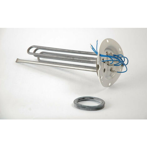 Ensemble resistance 3300w + joint pour chauffe eau blinde Thermor 230/400V, THERMOR, Ref.060463