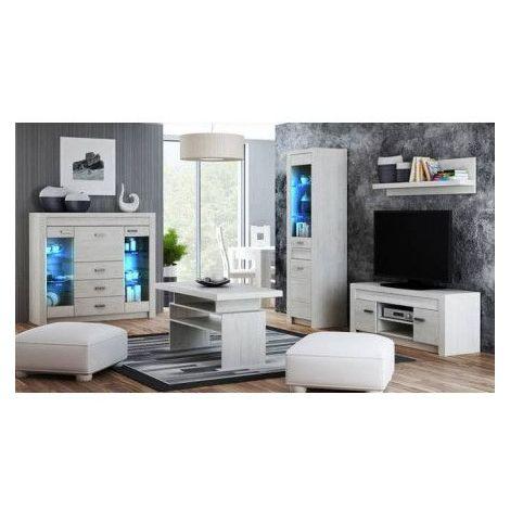 Ensemble Salon Dommy - Blanc