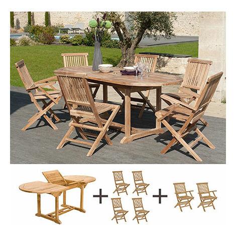 Conjunto de muebles de jardín para 6 personas