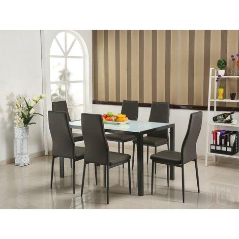 Ensemble Table Et 6 Chaises De La Collection Arras Set Design Et