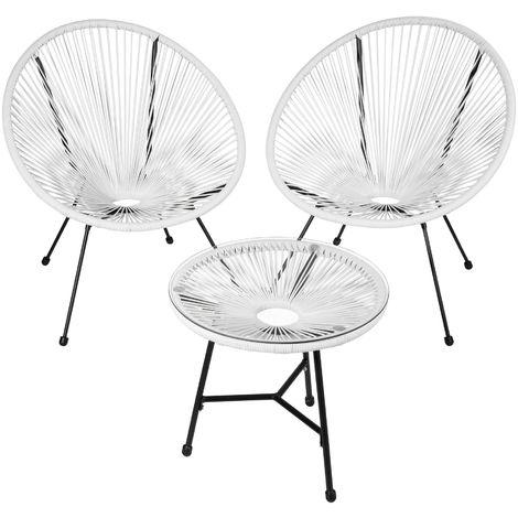Ensemble table et chaises de jardin GABRIELLA - meuble de jardin, mobilier de jardin, salon de jardin