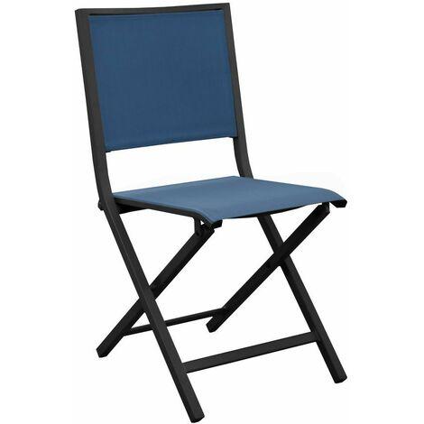 Ensemble table haute EOS 140 graphite + 4 chaise haute EOS tournesol