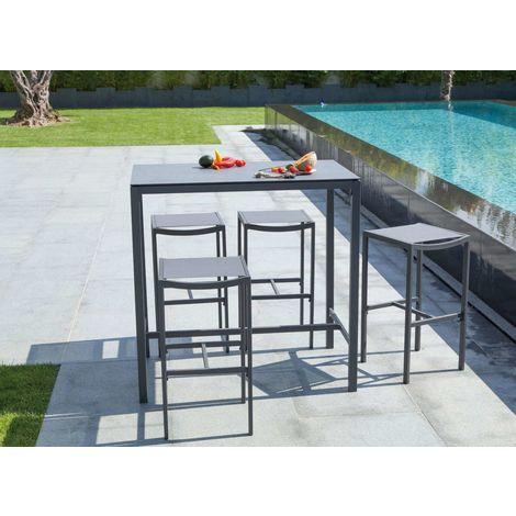 110 Ensemble plateau cm lucerne table SOTO gris Apra4 45A3RjL
