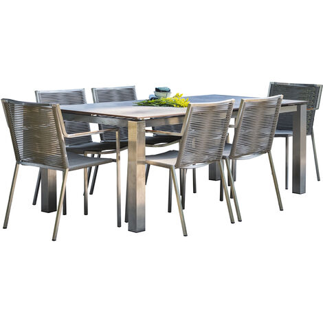 ENSEMBLE TORINO TABLE HPL +6FT - PARISGARDEN