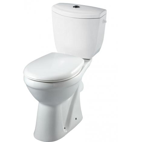 Ensemble WC à poser surélevé Sortie Horizontale