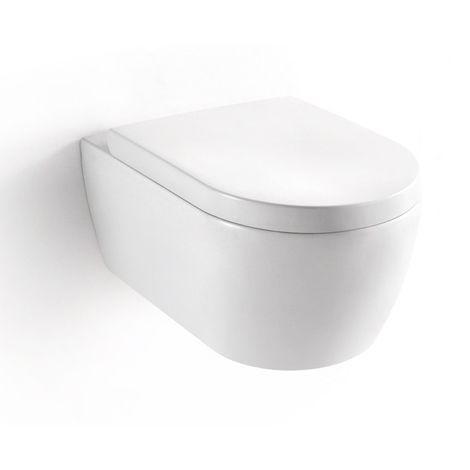 ENSEMBLE WC SUSPENDU - NANO - cuvette + siège soft close NT2019