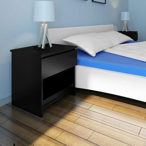 Ensminger 1 Drawer Bedside Table by Brayden Studio - Black