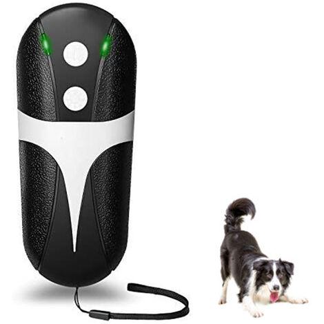 """main image of """"Entraîneur à ultrasons pour chiens, dispositif anti-aboiement portatif, répulsif sonique pour chiens, dispositif de contrôle des aboiements, anti-aboiement, sans danger pour les animaux et les humains, pénétration des murs, dressage de chiens extérieur in"""""""