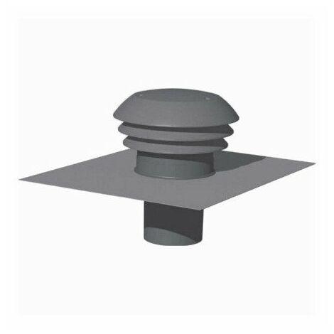 Entrée/Sortie d'air toiture - Diamètre 160mm - Grise