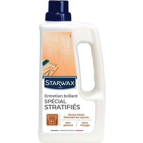 Entretien brillant pour parquets et sols stratifiés 1L STARWAX