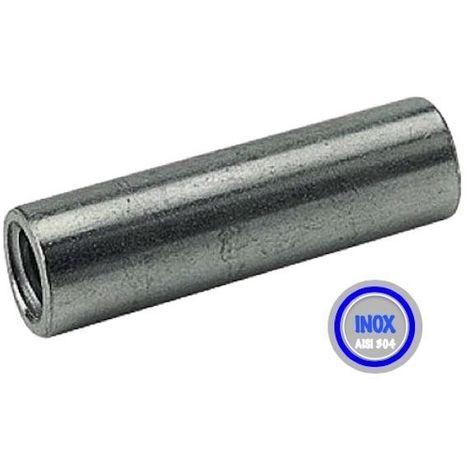 Entretoise INOX pour roue alésage 12 longueur de moyeu 45 vis de 8 mm