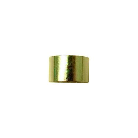 Entretoise - TOOLCRAFT (Ø x L) 13 mm x 8 mm laiton (nickelé) 1 pc(s) S58295