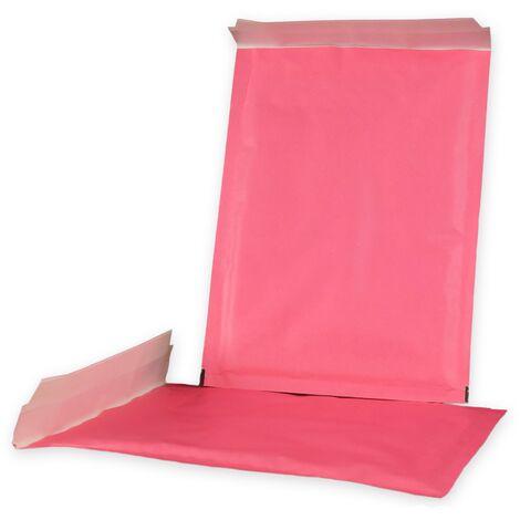 Enveloppes à bulles ECO D/4 ROSES format 180x260 mm
