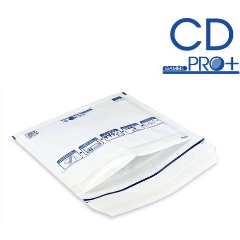 Enveloppes à bulles PRO BLANCHES CD format 145x175 mm