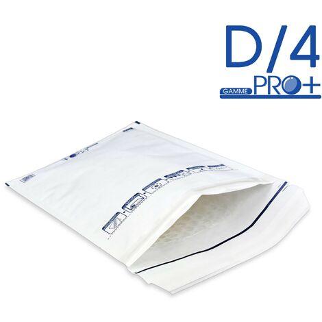 Enveloppes à bulles PRO BLANCHES D/4 format 170x265 mm