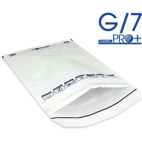 Enveloppes à bulles PRO BLANCHES G/7 format 230x335 mm