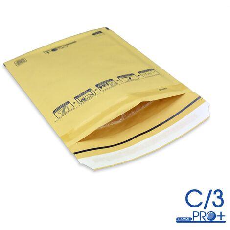 Enveloppes à bulles PRO MARRON C/3 format 140x215 mm
