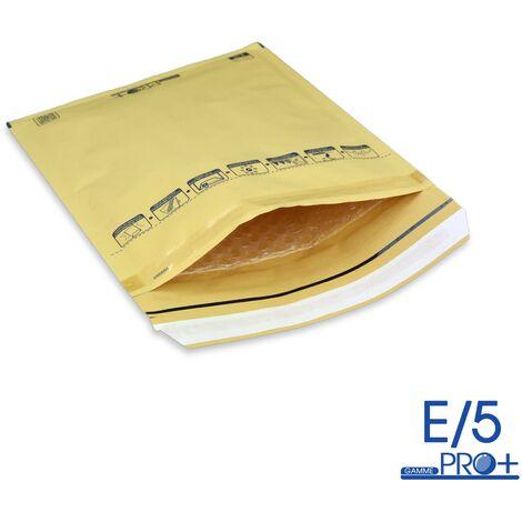 Enveloppes à bulles PRO MARRON E/5 format 210x265 mm