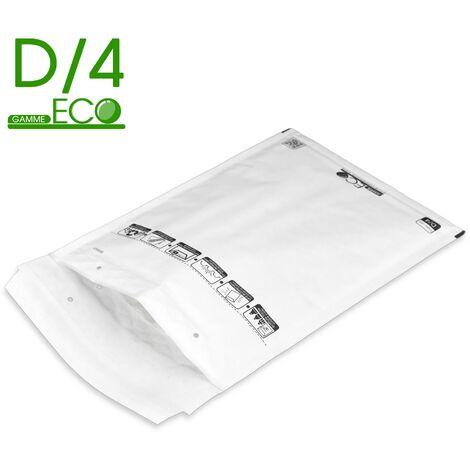 Lot de 100 Enveloppes à bulles ECO D/4 format 180x260 mm