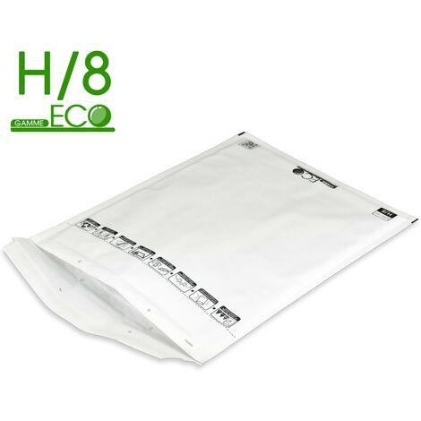 Lot de 100 Enveloppes à bulles ECO H/8 format 270x360 mm