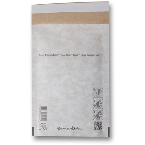 Lot de 50 Enveloppes à bulles EXTRA A/1 format 90x160 mm