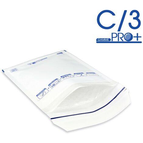 Lot de 10 Enveloppes à bulles PRO BLANCHES C/3 format 140x215 mm