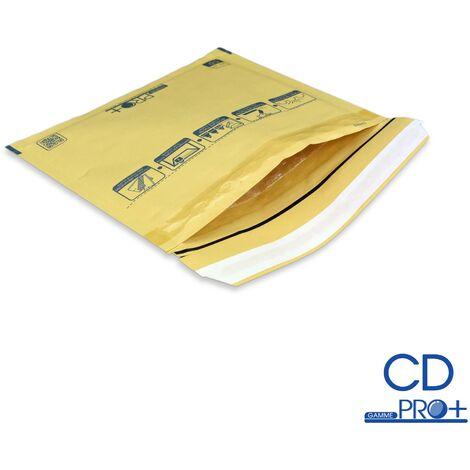 Lot de 10 Enveloppes à bulles PRO MARRON CD format 145x175 mm