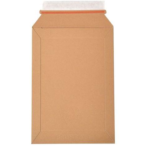 enveloppes carton B-Box 1 MARRON format 176x250 mm