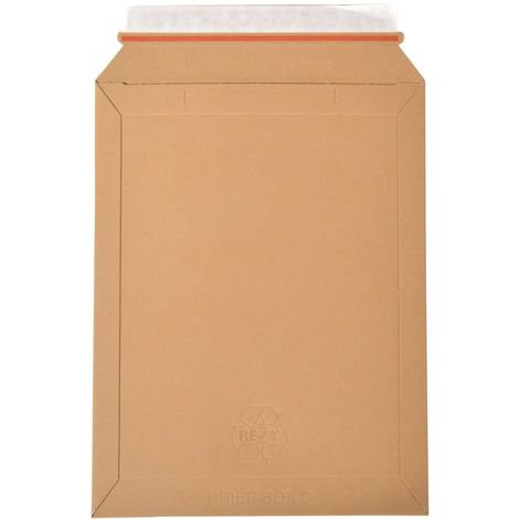 enveloppes carton B-Box 3 MARRON format 238x316 mm