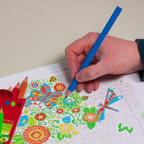 enveloppes carton B-Box 4 imprimée COLORIAGE format 250x353 mm