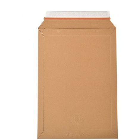 enveloppes carton B-Box 4 MARRON format 250x353 mm