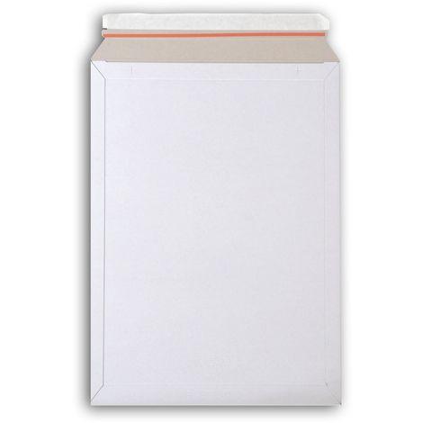 enveloppes carton B-Box 7 BLANC format 320x455 mm