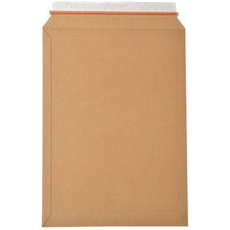 enveloppes carton B-Box 7 MARRON format 320x455 mm