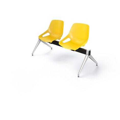 Chaise jaune à prix mini