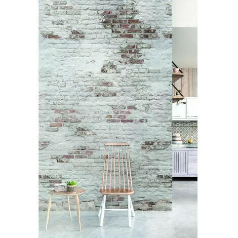 EP6101 Panoramique Mur de brick 3 lès 159x280cm rouille
