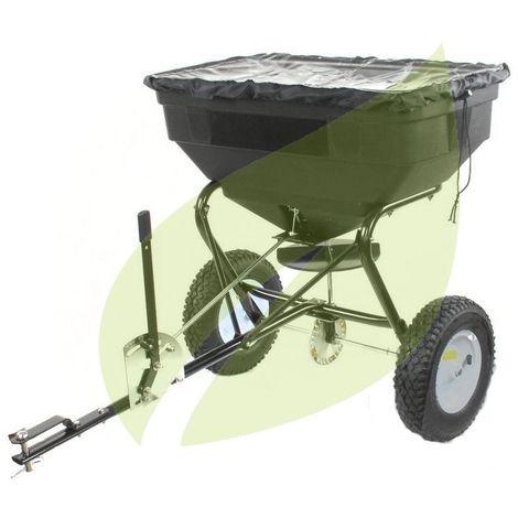 Epandeur rotatif à tracter pour tondeuses autoportées 56kg