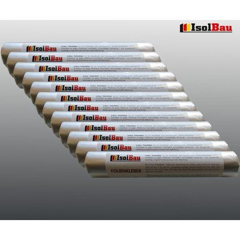 EPDM-Kleber Dichtkleber für Dampfbremse 12 x 600 ml Folienkleber Dampfsperre