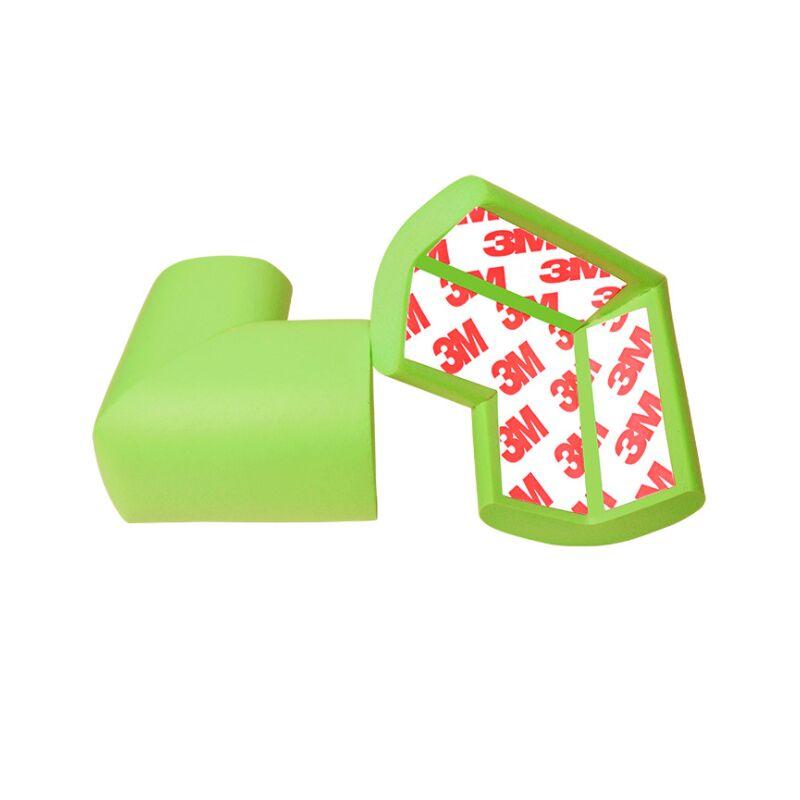 Ilovemilan - Housse de protection angle de table 12 pièces vert clair