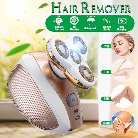 Epilator For Women's Legs Painless Electric Epilator Electric Shaver For Face Body Lips Arm Under Arm Arms - Armpits - Rechargeable And Cordless Trimmer Bikini Shaver Epilator - As Seen On TV Hasaki