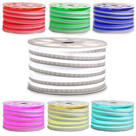 "EPISTAR profesional 2835 60 LED/m \""neón flexible\"" Cinta LED de 10 o 25 metros o 50 metros RGB impermeable (IP68)"