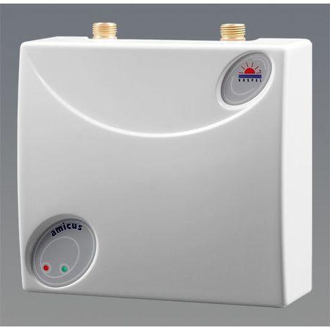 EPO.D-4 Amicus / Untertisch 4 kW elektrischer Klein-Durchlauferhitzer hydraulisch gesteuert