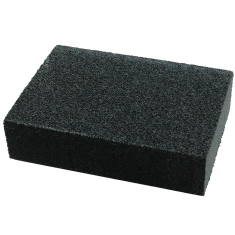 Eponge abrasive 10/7/2.5cm à grain P120 4 faces