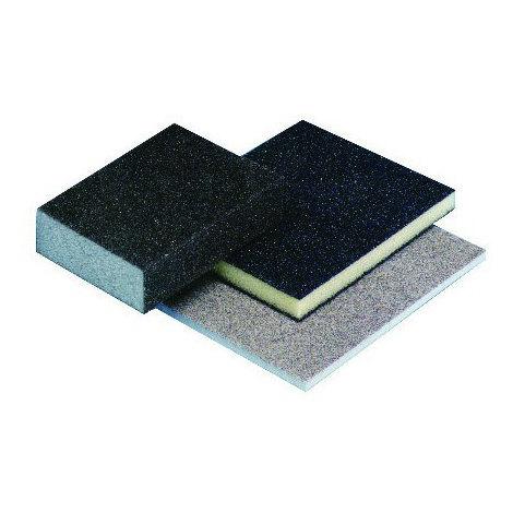 Eponge abrasive HERMES 123x97x12 mm Grain 100 - 6005818
