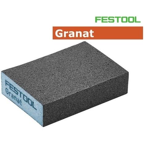Éponge de ponçage Festool 60 GR/6 69x98x26 mm