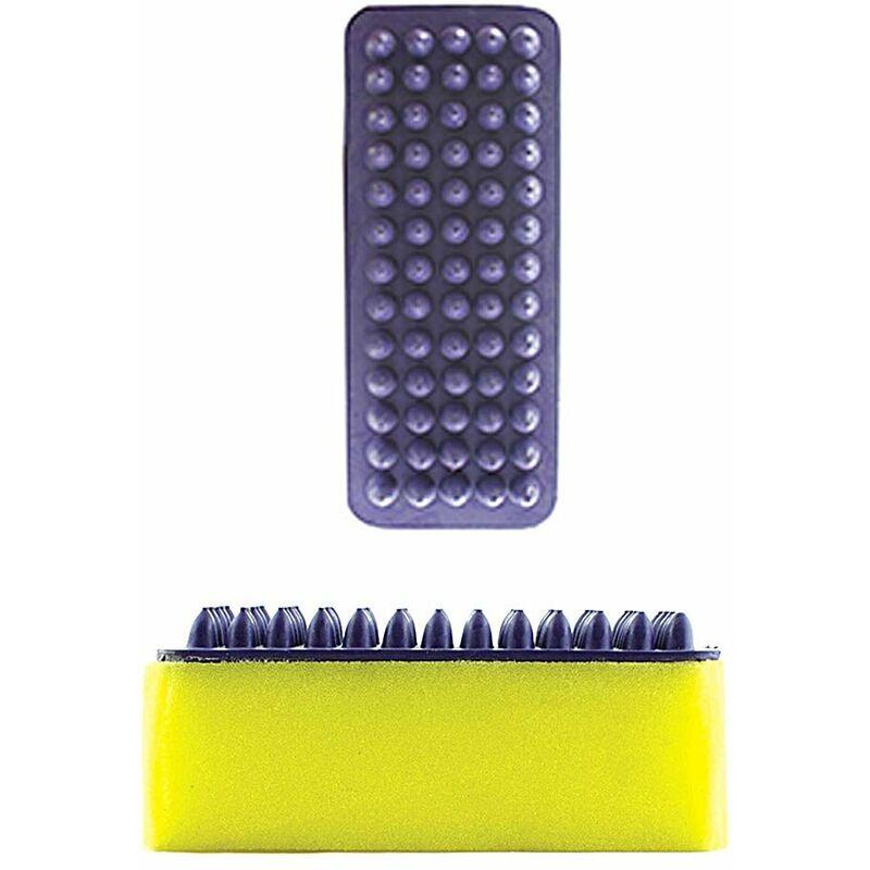 Eponge rectangulaire avec bande de caoutchouc