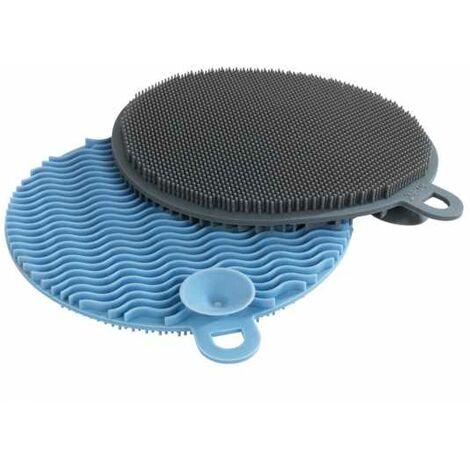 Eponge vaisselle multi usages en silicone, Soft, Lot de 2