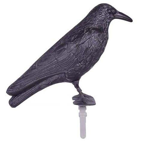 Epouvantail corbeau pour éloigner les pigeons