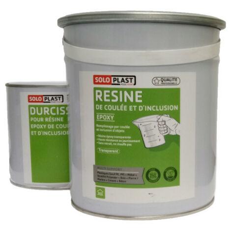 epoxídica del tipo de resina R123 Soloplast 5 KG