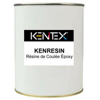 Epoxy casting resin kit KENITEX Kenresin base and hardener colourless - 1L