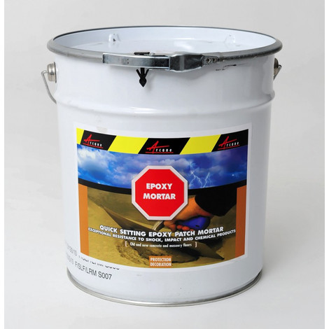 EPOXY MORTAR - Epoxy mortar Levelling, Repairs cement, fills cracks and levels | Grey - 5kg